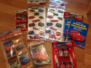 'CARS' lot of party goodies