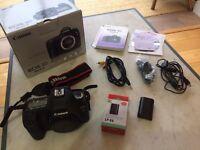 Canon EOS 5D Mark II DSLR camera body + extras
