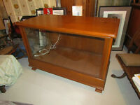 Pine Display Case in Beautiful Condition