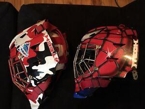 Youth goalie helmets