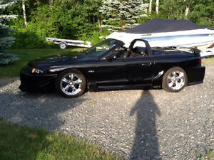 1998 FORD MUSTANG GT CONVERTIBLE 74000 miles 7500.00 CERT