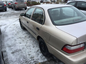 1996 Toyota Corolla 4DR Sedan