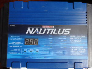 Nautilus Battery Charger, 15/10/2A - not tested