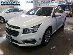 2016 Chevrolet Cruze Limited LT  -  Bluetooth -  A/C - $104.89 B