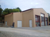 Steel  Building Sales and Erecting Services in Peterborough