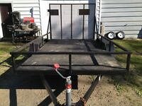 6 X 12 FT TRAILER WITH RAMP