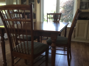 Dining Table and  6. Chairs
