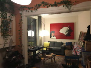 (Plateau)coloc recherche/looking for roommate