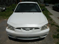 2002 Hyundai Accent Coupe (2 door) Good Condition !
