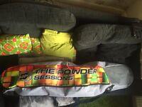 Snowboarding gear job lot!