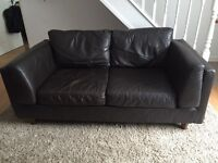 Black Faux Leather Chair