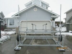 CUSTOM CANTILEVER PONTOON, BOAT AND WAKEBOARD BOAT LIFTS Prince George British Columbia image 8