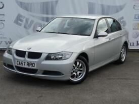 2008 BMW 3 SERIES 320D ES DIESEL LOW MILEAGE 16 INCH ALLOY WHEELS 2 KEYS SALOON