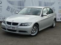 2008 BMW 3 SERIES 320D ES DIESEL LOW MILEAGE 16 INCH ALLOY WHEELS 2 KEYS SALOON