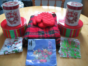 HUGE ASSORTMENT OF PRETTY CHRISTMAS ITEMS FOR SALE