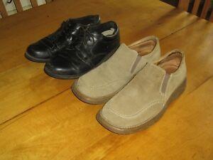 2 paires de souliers presque neuf