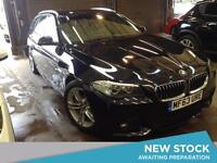 2013 BMW 5 SERIES 520d M Sport Step Auto 5dr Touring