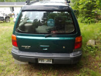 1999 Subaru Forester Familiale bas millages mag