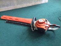 Sthil hedge trimmer light weight.