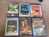 6 PlayStation 2 games