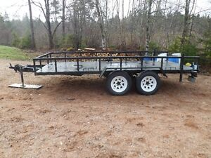 Trailer With Ramps