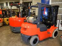 chariots élévateurs pneumatiques Cat Toyota Hyster SMforklift