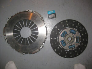 small block chev bell housing flywheel and clutch assembly