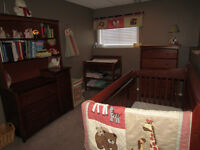 Nursery Set and Toddler bed for sale