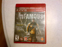 inFamous for the PS3