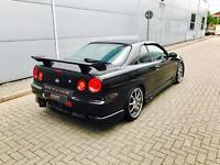 1998 Nissan Skyline R34 2.5 GTT Turbo Manual + Black + GTR / Nismo Styling Kit