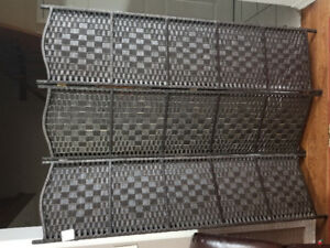 Beautiful quality bamboo room divider/privacy screen