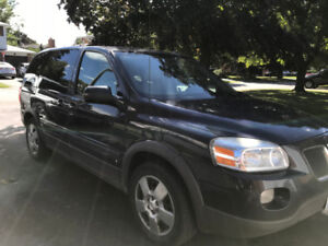 2008 Certified Pontiac Montana With Winter Tires and Rims