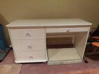 Child's bedroom set - bed, desk, dresser cabinet