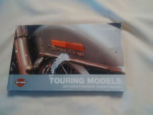 2007 HD Touring Owners Manual
