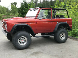 1968 Ford Bronco complete custom