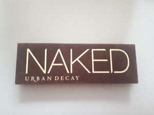 GREAT CONDITION  Urban Decay Naked 1 Eyeshadow Palette