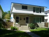 AVAILABLE NOW SPACIOUS 3 BDR. DUPLEX FOR RENT OSBORNE ST. SOUTH