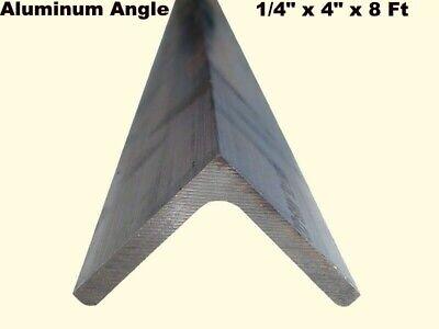 Aluminum Angle 14 X 4 X 8 Ft Length Unpolished Alloy 6061 90 Stock