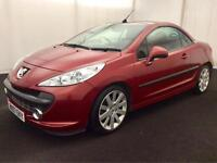 PEUGEOT 207 CC 1.6HDi GT CONVERTIBLE [2007] LOW MILES..FULL HISTORY..LOOKS GREAT