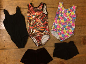 Gymnastics gym suits sz 10-12 variety prices