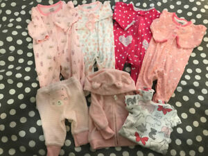 Baby Girl Lot Wardrobe