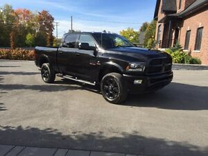 2016 Ram 2500 Laramie All Black diesel