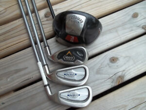 RH Calloway Driver and 3 Irons