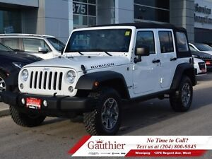 2015 Jeep Wrangler Unlimited Rubicon 4X4 w/Dual Tops *LOCAL*