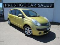 2006 Nissan Note 1.6 16v SE 5dr Petrol yellow Automatic