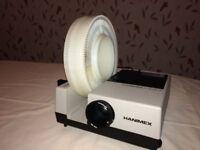 Hanimex La Ronde slide projector and screen