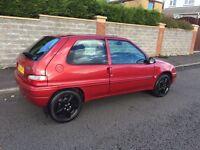 Saxo 1.1 2003 cheap £300