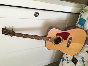Ibanez acoustic guitar, almost brand new.