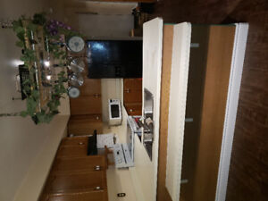 Kitchen cabinets and countertop