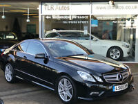 2010 Mercedes-Benz E350 CDI ( 231bhp ) Auto Sport AMG pack Coupe 54,000mls